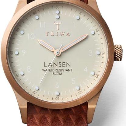 Triwa Ivory Lansen Brown Giza Mono TW-LAST117-MG010214 + pojištění hodinek, doprava ZDARMA, záruka 3 roky