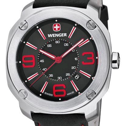 Wenger Escort 01.1051.103 + pojištění hodinek, doprava ZDARMA, záruka 3 roky