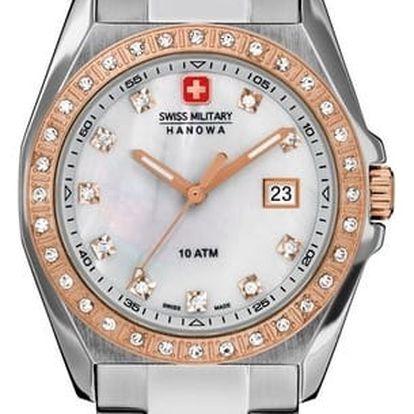 Swiss Military Hanowa 7190.1.12.001 + pojištění hodinek, doprava ZDARMA, záruka 3 roky