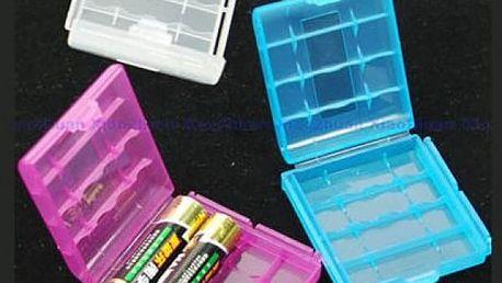 Krabička na 4 kusy AA/AAA baterií - dodání do 2 dnů