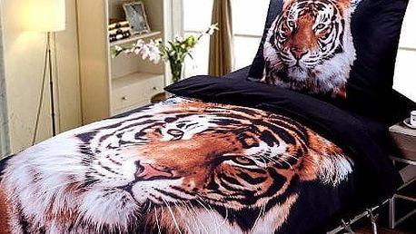 3D povlečení tygr
