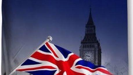 3D povlečení London vlajka