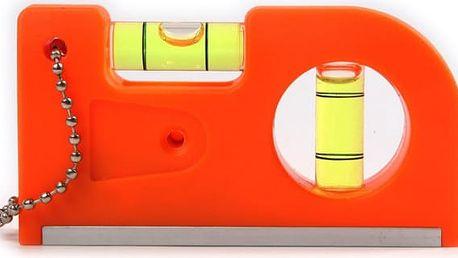 Minivodováha na klíče s magnetem - oranžová