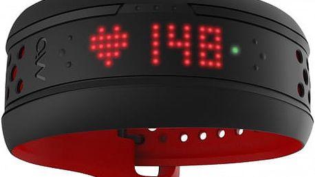 MIO Fuse activity tracker, dlouhý pásek, červená - MI-59P-LRG-INT