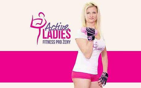 14denní permanentka pro 1 osobu s neomezeným fitness ve studiu Active Ladies v Plzni