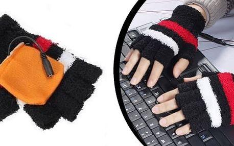 USB hřejivé rukavice jsou ideální pro věčné zmrzlíky, jak k PC, tak na běžné nošení. Uvnitř rukavic jsou vyhřívané podložky, které se při zapojení do USB začnou nahřívat. Během minutky budete mít ruce v teple. Rukavice lze napájet powerbankou. Výhřevné tě