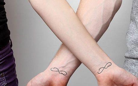 Dočasné tetování - 2 sady