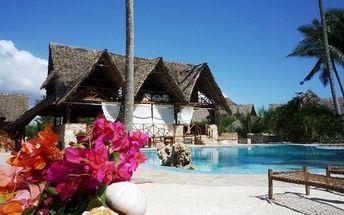 Zanzibar - Uroa na 10 až 12 dní, light all inclusive s dopravou letecky z Prahy
