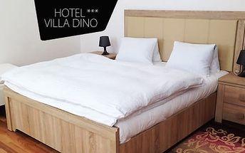 Mariánské Lázně ve 3* hotelu: 5 dní pro 2 osoby včetně polopenze + masáže, zábaly a bazén