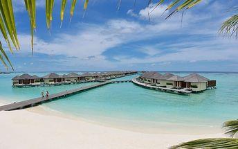 Maledivy - Severní Atol Male na 10 dní, polopenze s dopravou letecky z Prahy