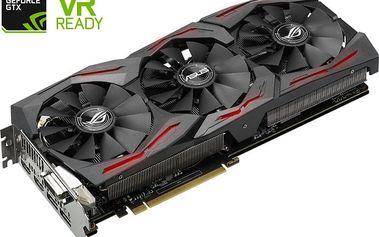 ASUS GeForce ROG STRIX GAMING GTX1070 OC DirectCU III, 8GB GDDR5 - 90YV09N0-M0NA00 + Kupon hra dle vlastního výběru: For Honor, Tom Clancy´s Ghost Recon v ceně 1499,- Kč