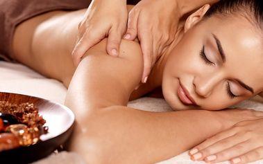 Až 125min. masáž: klasická, antistresová, sportovní, lymfatická