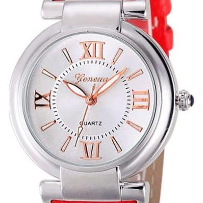 Dámské hodinky s elegantním ciferníkem - 8 barev