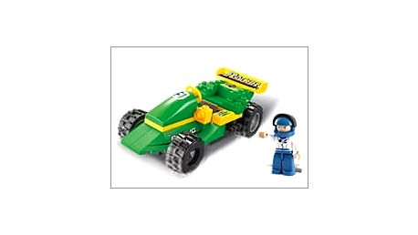Závodní autíčko ze stavebnice Sluban i pro ty nejmenší! Řekněte Ježíškovi o tomto skvělém dárku za pár korun!