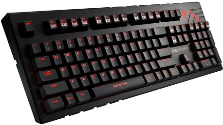 CoolerMaster Quickfire Ultimate, Cherry MX Brown, US - SGK-4011-GKCM1-UI