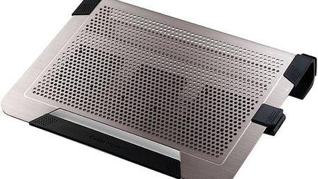 """CoolerMaster NotePal U3 PLUS, pro 15-19"""", titanium - R9-NBC-U3PT-GP"""