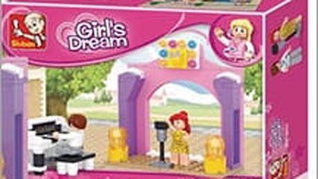 Stavebnice Sluban - hudební pódium. Báječná hračka pro všechny kluky i holky za pár peněz na Slevících!