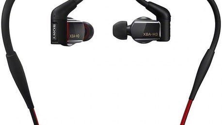 Sony XBA-H3, černá - XBAH3.CE7
