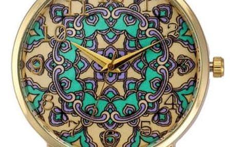 Dámské hodinky se vzory mandaly