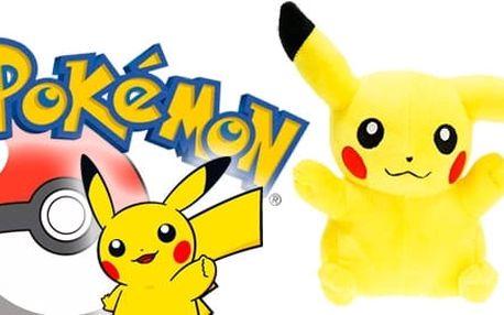 Plyšový pokémon Pikachu