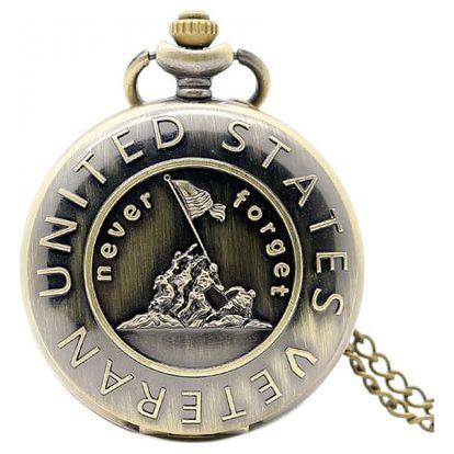 Kapesní hodinky - Veteráni USA
