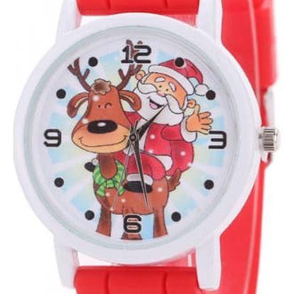 Dámské hodinky se Santa Clausem - dodání do 2 dnů