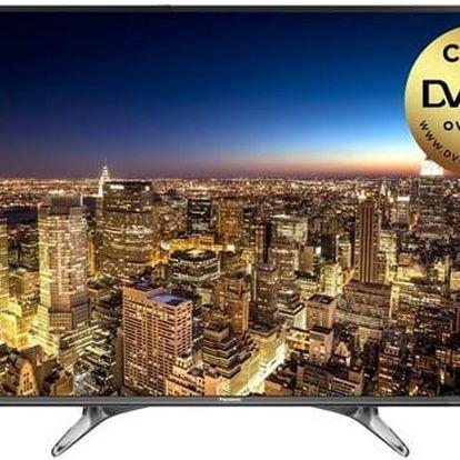 Televize Panasonic TX-55DX603E stříbrná + Doprava zdarma