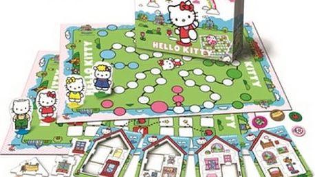Velká společenská hra Hello Kitty - VÝPRODEJ