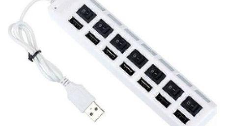 USB HUB se 7 porty - dodání do 2 dnů