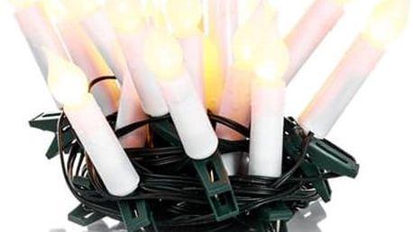 RXL 131 svíčky 20LED 5+5m WW RETLUX; 50002282