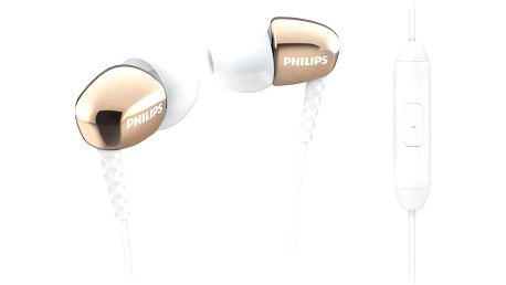 Philips SHE3905GD, zlatá - SHE3905GD/00