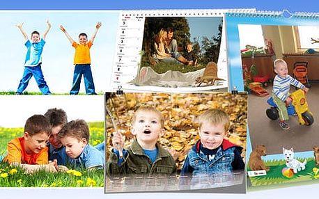 Nástěnné či stolní kalendáře z vašich vlastních fotografií. Darujte jedinečný dárek.
