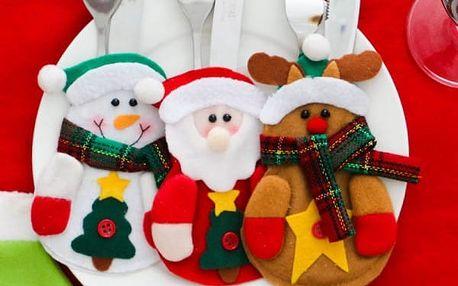 Vánoční kostým na příbory