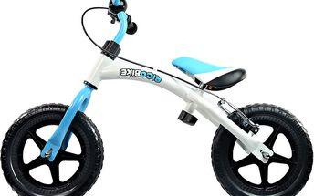Dětské odrážedlo Ricobike: blílo - zelená, bílo - modrá či bílo - oranžová barva vč. dopravy