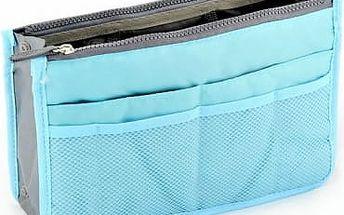 Organizér do kabelky - modrá