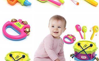 Dětská sada hudebních nástrojů - dodání do 2 dnů