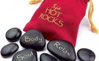 Horké kameny - velké - červená