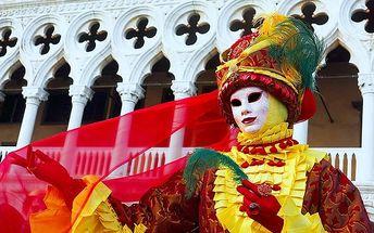 3denní zájezd na slavný karneval v Benátkách pro 1 osobu