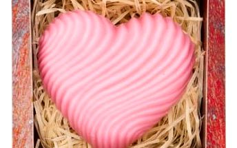 Ručně vyráběné mýdlo - Srdce