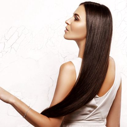 Krásné dlouhé a husté vlasy