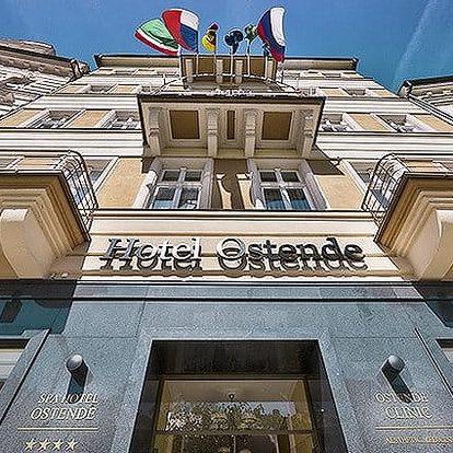 3denní wellness pobyt pro 1 nebo 2 osoby v hotelu Ostende**** v Karlových Varech