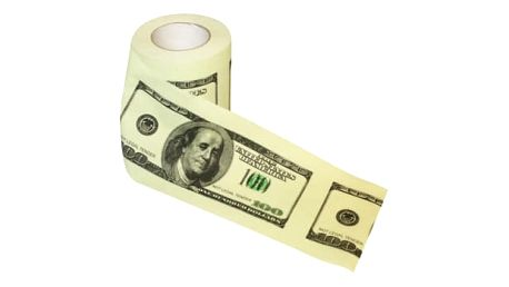Toaletní papír - Dolar