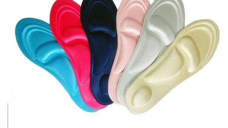 Ortopedické vložky do bot s gelovými polštářky