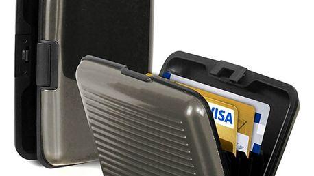 Praktická dokladovka Aluma Wallet - šedá