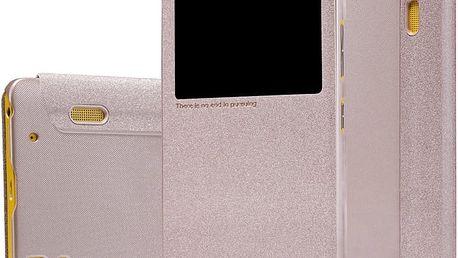 Nillkin Sparkle S-View pouzdro pro Lenovo A7000, zlatá - 25628