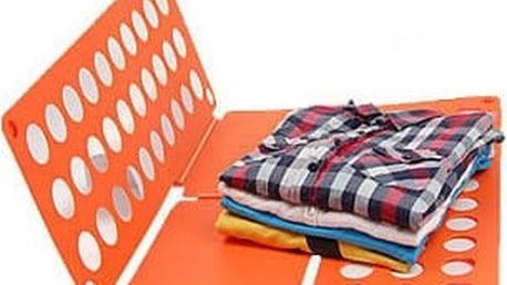 Deska na rychloskládání DĚTSKÉHO oblečení - oranžová