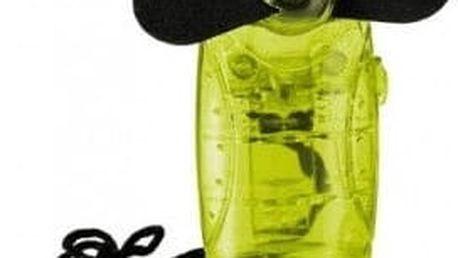 Mini větráček přívěšek - žlutá