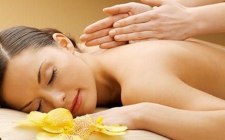 Vanilková uvolňující aroma masáž zad a šíje