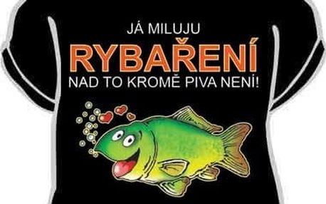 Tričko - Já miluju rybaření - XXL