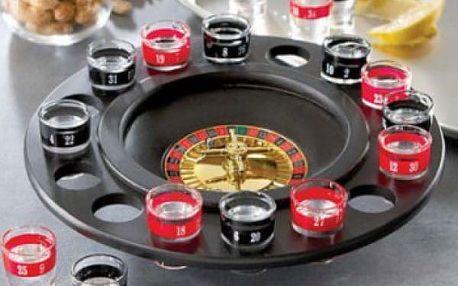 Alkoholová ruleta - rozproudí zábavu na každém večírku!
